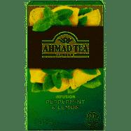 Čaj Ahmad Peppermint-Lemon 20ks