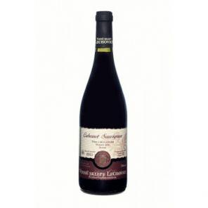 Víno Červené Cabernet 1L Lechovice suché