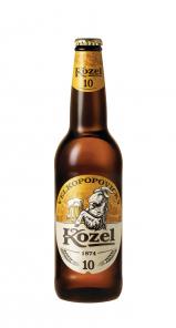 Velkopopovický Kozel světlý 10% 0,5L Láhev