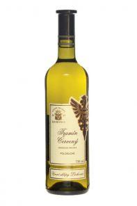 Víno Bílé Tramín Červený 0,75L Lechovice polosuché