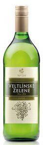 Víno Bílé Veltlínské Zelené 1L Alkone Suché