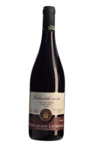Víno Červené Ruland. Modré PS 15 0,75L Lechovice