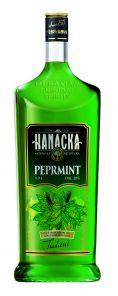 Peprmintový likér 1L 20% Hanácká