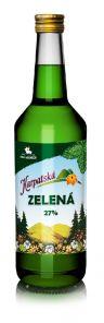 Peprmint Karp.zelená 1L 27% OH
