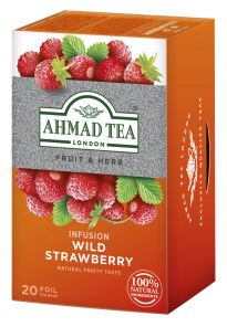 Čaj Ahmad ovocný jahoda 20ks