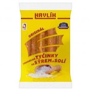 Tyčinky Havlík se sýrem a solí