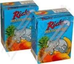 Ricky Multivitamín 12% 0,2L