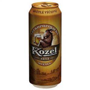 Velkopopovický Kozel 10% 0,5L plech